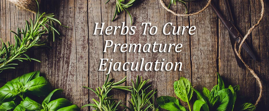 7 Best Herbs To Cure Premature Ejaculation Naturally