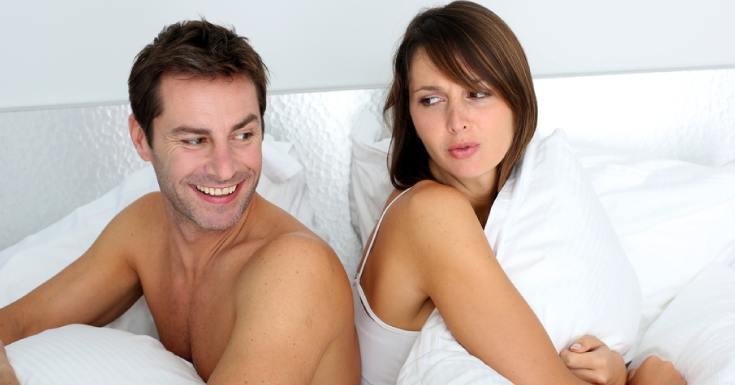 bed arguing