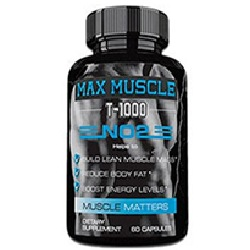 Max Muscle T-1000 NO2 Review