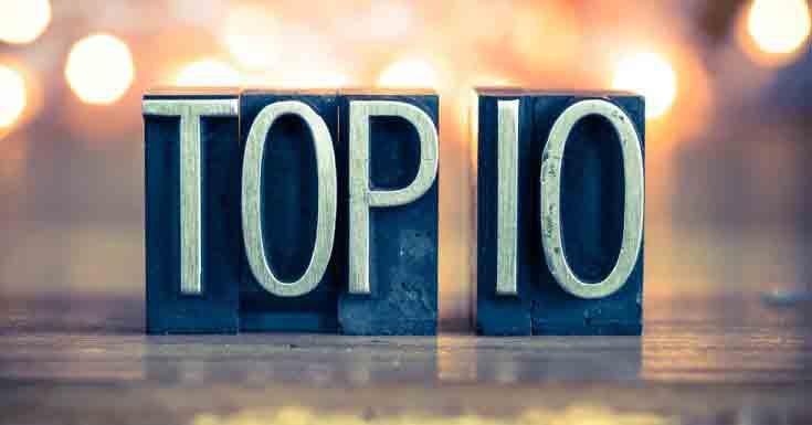 word top 10 written vintage metal