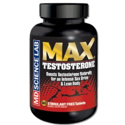 MD Science Lab Max Testosterone