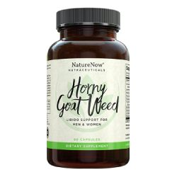 NatureNow Horny Goat Weed Capsules